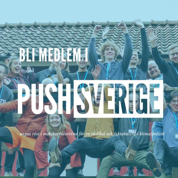 Bli medlem PUSH Sverige